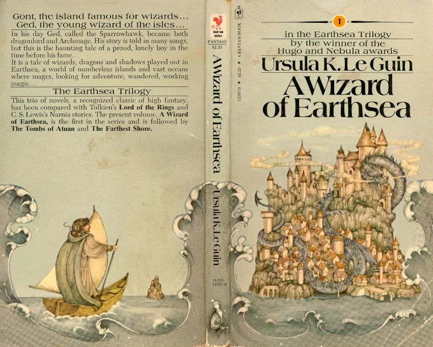 a wizard of earthsea book review